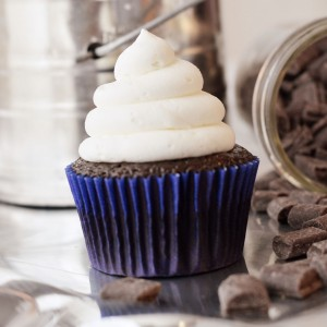 Chcocolate and Vanilla Cupcake